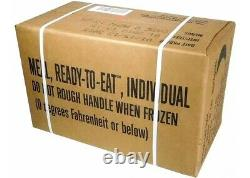 12 x USA ARMY MRE RATION MEAL READY TO EAT Genuine U. S. Military Surplus