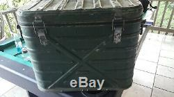 1959 US Army Military Metal Insulated Food Container Cooler Landers Frary Clark