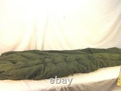 1963 Vietnam Era Od Green Military Army Usmc Mummy Intermediate Sleeping Bag