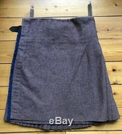 33 British Army London Scottish Hodden Grey Elcho tartan military kilt