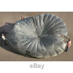 35 Cargo Parachute U. S. Military Surplus Army Issue Collectible Home Display