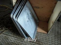 7. Military Surplus Kitchen M59 Field Range Cookie Sheets Baking Bake Us Army
