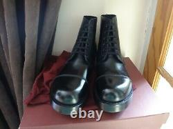 8 M BRITISH ARMY AMMO BOOTS Military Royal Guards Hobnail WW1 WW2 Cadets Boxed