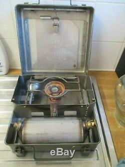 A British Army No12 Kerosene Paraffin Diesel Stove Military Complete