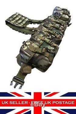 Airborne Webbing Multicam MTP Military Assault Webbing Set ATP Battle Belt Yoke