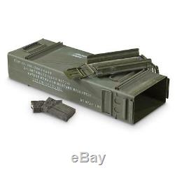 Ammo Metal Can US Army Military Surplus PA154 120 Mortar Bullet Case Storage Box