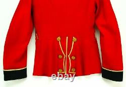 Antique British Other Ranks Military Tunic Red Hobson & Sons 1900 Officer Jacket