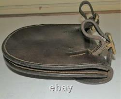 Antique Military Horse Shoe Carrier Saddle Bag'M. Harvey & Co, WALSALL, G&M1906
