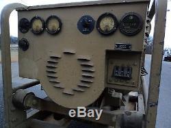 Army 4 cylinder gas military generator