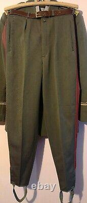 Army Military Academy Dress Uniform Set Yugoslavian People's Army JNA SFRJ