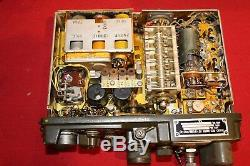 Army Military Surplus Rt176 Prc 10 Receiver Transmitter Field Phone Radio Base