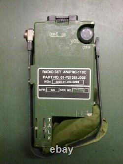 Army Us Navy Military Survival Rescue Radio Transceiver An/prc-112c