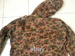 Austria army pea dot m57 HBA 1971 camouflage jacket Austrian military