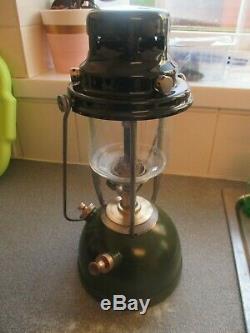 BRITISH ARMY VAPALUX GREEN MILITARY CAMPING Lantern Surplus