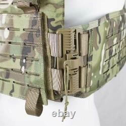 BULLDOG QR KINETIC ARMOUR PLATE CARRIER Army Military Airsoft MOLLE Vest Green
