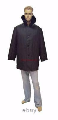 Bekesha Cloth Russian Army Coat Winter Sheepskin USSR Shearling Jacket Soviet