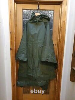 Belstaff Military Army Issue Smock Poncho Ground Sheet Tent rain mac waterproof