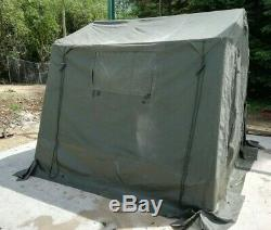 British Army 9x9 Land Rover WOLF Tent COMPLETE Military Surplus Command Tent