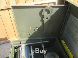 British Army Diesel Cooker Stove VGC Camping Fishing Military Surplus MOD