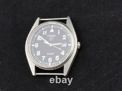 British Army Military 1999 Short Hand Pulsar G10 Watch nice issued condition