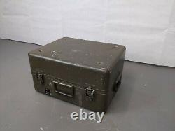 British Army Military Aluminium Equipment Transport Flight Storage Case Box