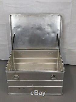 British Army Military Bott Aluminium Transport Flight Storage Case Box