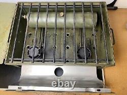 British Army Military Field Cooker No. 2 / 3 Mk 1 Portable Stove