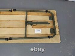 British Army Military Lightweight Folding Field Table Land Rover