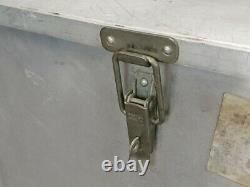 British Army Military Lockable Aluminium Catering Utensil Storage Box Case