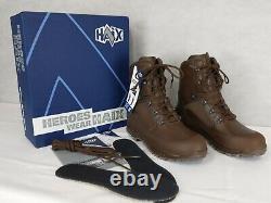 British Army Military MOD HAIX Combat High Liability Boots UK 8 New