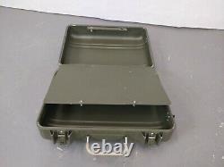 British Army Military MOD Small Aluminium Tool Box Case Zero Cases