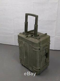 British Army Military MOD Wheeled Tote Transport Flight Storage Case Box