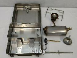 British Army Military No 12 Cooker Multi Fuel Stove Camping Bushcraft