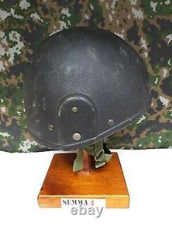 British Army Military SAS MK6A GS Ballistic Kev lar Combat Hel met + Riot Visor