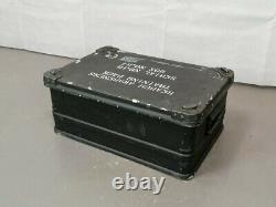 British Army Military Zarges Aluminium Transport Flight Storage Case Box
