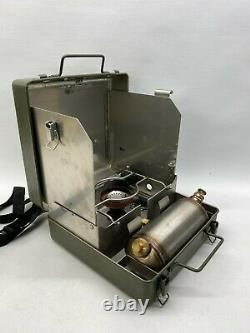 British Army No12 Diesel Cooker Stove MOD Military Surplus Fishing Camping VGC