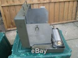 British Army No12 Diesel Cooker Stove VGC Camping Fishing Military Surplus MOD