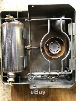 British Army No12 Kerosene Paraffin Diesel Stove Cooker. Camping Military MOD