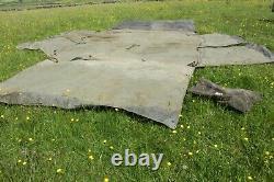 British Army Tent Military Scorpion Fox CVRT Shelter Vintage Issued (J)