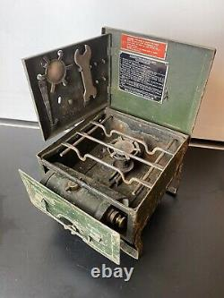 British Army WW2 Military Field Cooker No. 2 / 3 Portable Paraffin Diesel Stove
