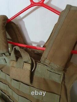 British Military Army Desert Special Forces Assault Vest Plate Carrier large