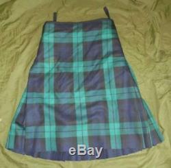 British Military Army Royal Regiment of Scotland Kilt 36 waist 6ft 188/92