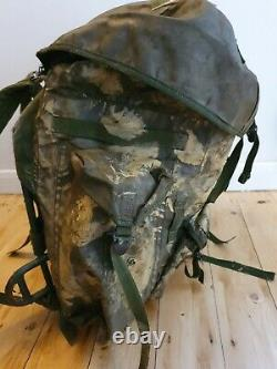 British Military Army SAS 1988 Gulf War 58 Olive Metal Frame bergen bag pack