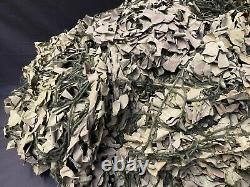 British Military Large Camouflage Net Netting, Vehicle, Tent, Base Cover