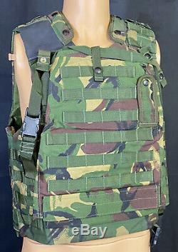 British Military Woodland DPM Osprey Tactical Body Armour Vest