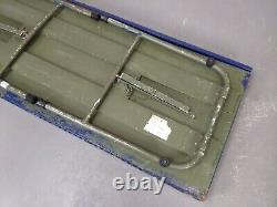 British RAF Military Wooden Field Map Office Folding Table Desk