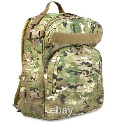 Bulldog Tacticus V2 MOLLE Hydration Military Cadet Rucksack Daysack 37L MTC MTP