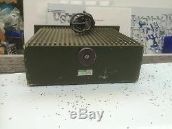 CLANSMAN MILITARY GRADE USED 20A MAINS ADAPTOR 110/240AC TO 12/14v TESTED & VGC