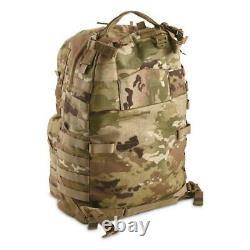 Camo MOLLE II Medium Rucksack Bag Storage U. S. Made Military Surplus Army Issue
