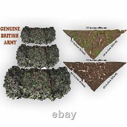 Camo Netting British Army Surplus Genuine Woodland Camouflage Military White Net